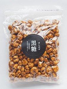 画像1: 遠州屋 ぽんはぜ黒糖コーン 250g (1)